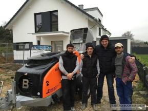 Holger und das Estrich Team Dott