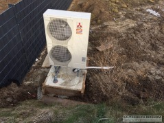 Aussengerät Waterkotte Wärmepumpe